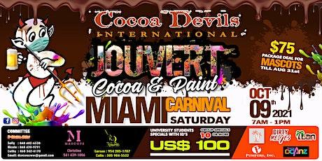 Cocoa Devils International Miami Carnival J'ouvert 2021 tickets