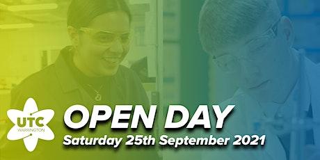 UTC Warrington Open Day - 25th September tickets