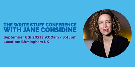 The Write Stuff Conference with Jane Considine tickets