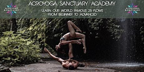 Acroyoga Sanctuary Beginner Course Lv2 tickets