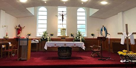 Sunday Vigil, 7 August, 4.30pm, Sacred Heart, Salsburgh tickets