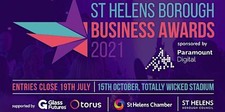 St Helens Borough Business Awards tickets