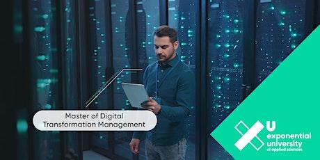 Master of Digital Transformation Management – Verändere Deine Zukunft Tickets