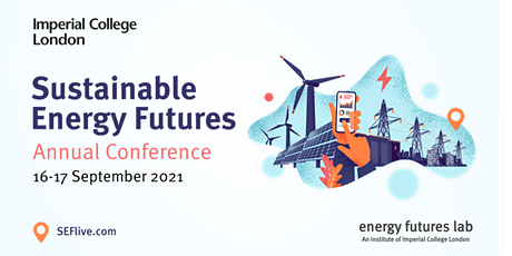 Sustainable Energy Futures Annual Conference 2021 tickets