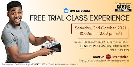 Free Centonomy Campus Edition Class Experience tickets