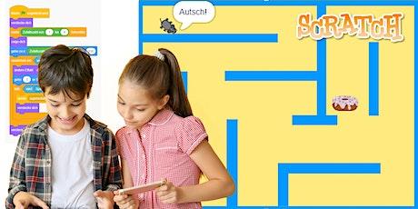 """Scratch - """"Labyrinth"""" - Programmierkurs für Kinder Tickets"""