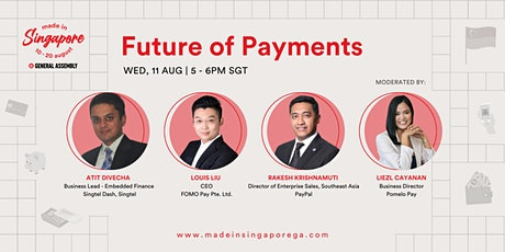 Made in Singapore: Future of Payments tickets