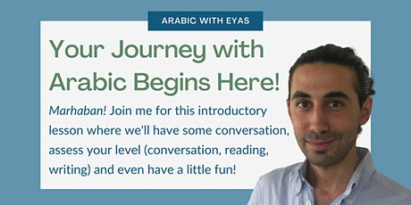 Begin Your Arabic Journey - Intro Lesson! tickets