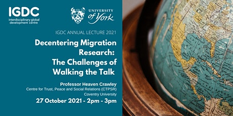 Decentering Migration Research: the Challenges of Walking the Talk tickets