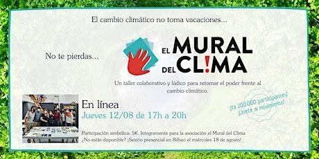 El Mural del Clima – Taller online boletos
