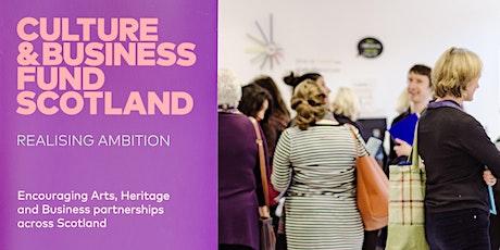 Culture & Business Fund Scotland ROADSHOW tickets