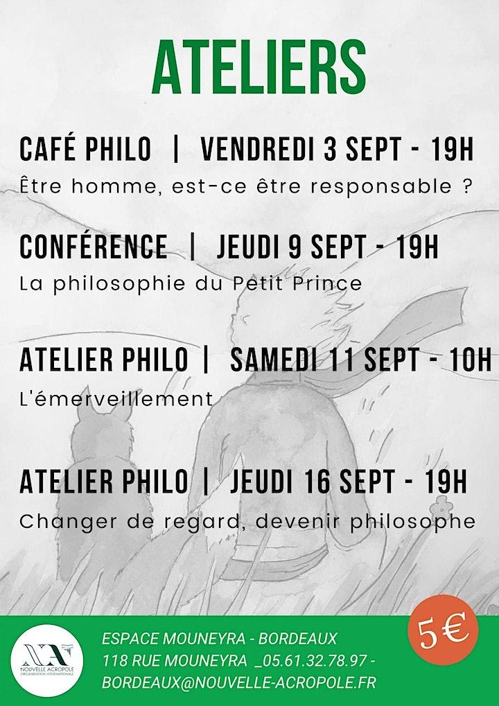 Image pour Atelier philo : la philosophie du Petit Prince