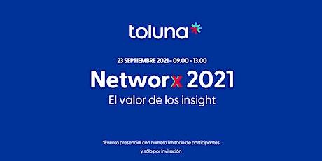 Toluna Networx 2021 entradas