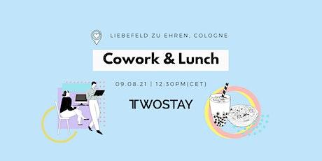 Twostay Cowork & Lunch @LIEBEFELD zu EHREN! Tickets