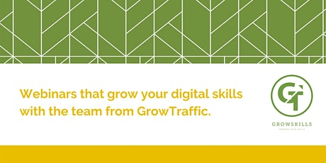 GrowSkills Marketing Webinar tickets