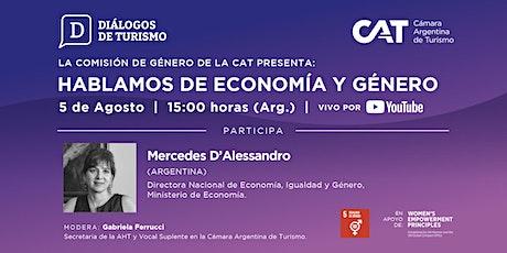 DIÁLOGOS DE TURISMO | Hablamos de Economía y Género | 05 Agosto entradas