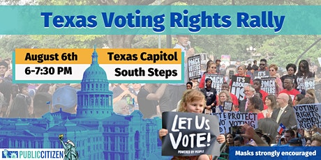 Texas Rally for Voting Rights tickets