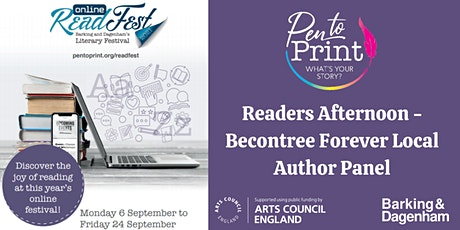 ReadFest: Readers Afternoon - Becontree Forever Local Author Panel tickets