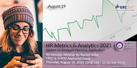 HR Metrics & Analytics 2021: Update on Strategic Planning, Application tickets