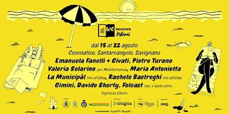 EMANUELA FANELLI + GIUSEPPE CIVATI - Voce di donna | We Reading Festival biglietti