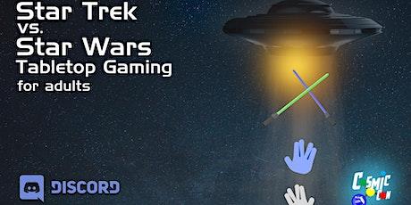 Star Trek vs. Star Wars Tabletop Gaming for Adults tickets
