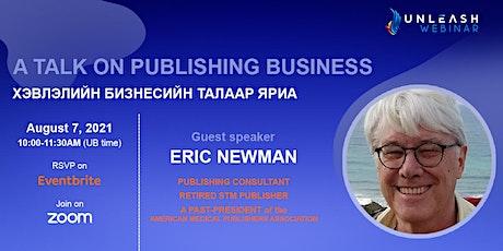 Unleash Webinar with Eric Newman tickets
