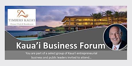 Kaua'i Business Forum tickets