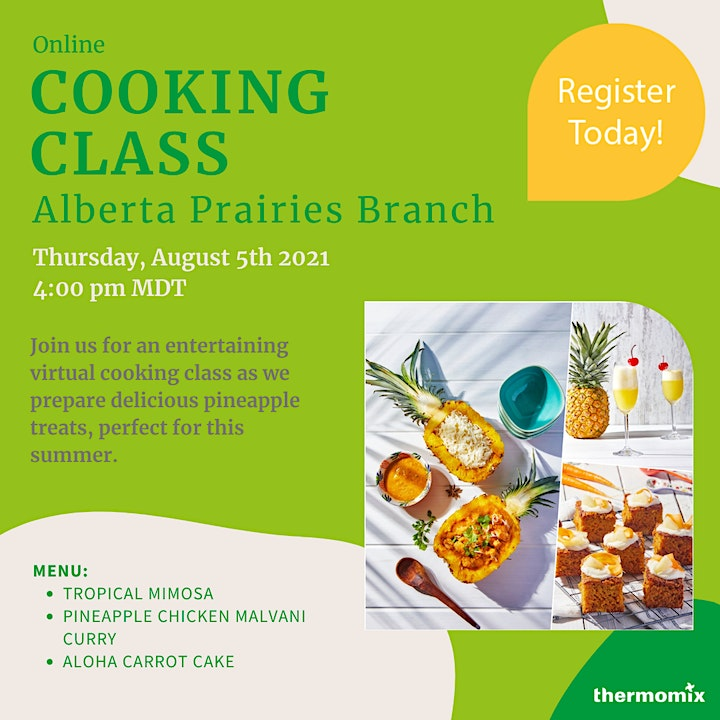 Thermomix® Cooking Class:   Aloha – Pineapple Goodness image