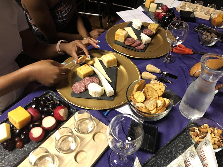 Make Your Own Charcuterie Board & Wine Tasting Experience image