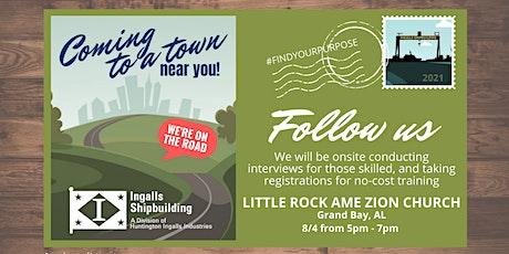 Ingalls Shipbuilding - Little Rock AME Zion Church Hiring Event tickets