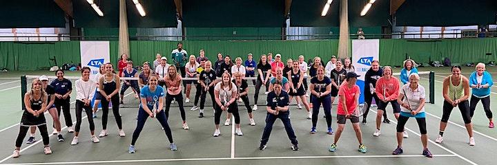 She Rallies Teen Tennis - Warwickshire image