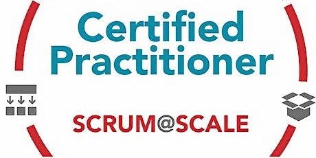 Weekend Live Online - Certified Scrum@Scale Practitioner tickets