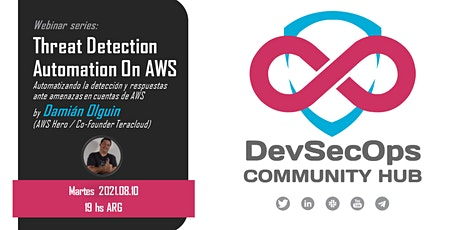 Webinar Series - Threat Detection Automation On AWS tickets