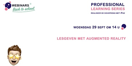 Professional Learning Series - lesgeven met augmented reality tickets