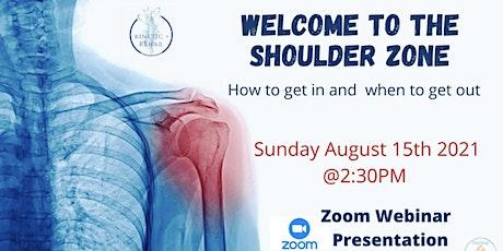 The Shoulder Zone  Sports Webinar tickets