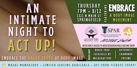 ACT UP Event with Arcane Swimwear: Embracing the Naked Truth of Body Image tickets