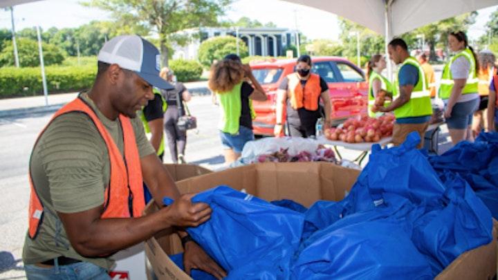 Hampton Roads Military Family Drive-Thru Food Distribution image