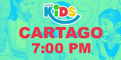 Kids Cartago. Noches de Vida 7:00pm entradas