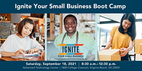 Ignite Your Small Business Boot Camp tickets