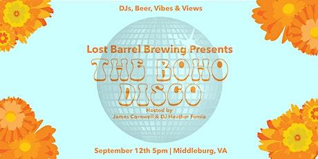 BOHO DISCO at Lost Barrel Brewing tickets