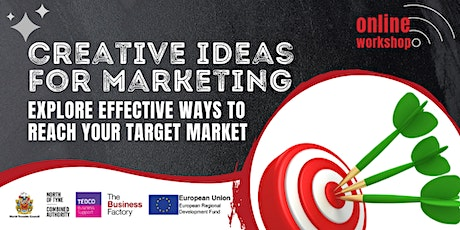 Creative Ideas for Marketing - 1.30pm tickets