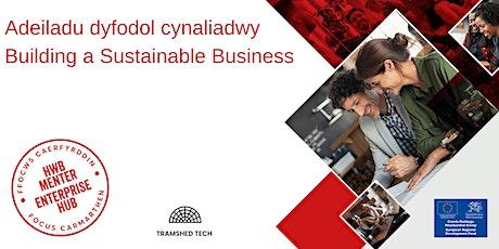 Adeiladu Dyfodol Cynaliadwy | Building a Sustainable Business tickets