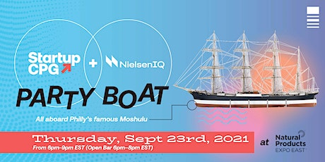 Startup CPG Expo East Boat Party tickets