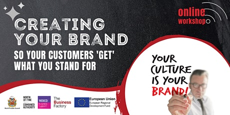 Creating Your Brand - 1.30pm tickets