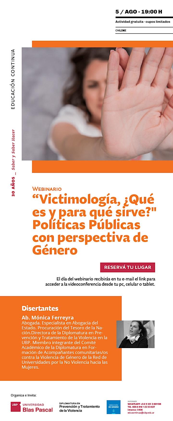 """Imagen de Webinario> """"Victimología, ¿Qué es y para qué sirve?"""""""