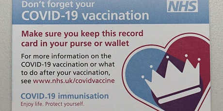 Covid 19 Vaccination Clinic - Thursday 5th August 2021 tickets