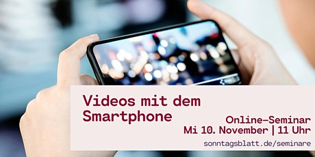 Videos mit dem Smartphone Tickets