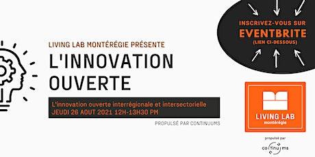 L'innovation ouverte interrégionale et intersectorielle billets