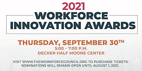 2021 Workforce Innovation Awards tickets