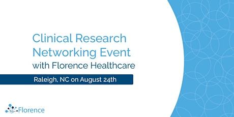 Raleigh Area Clinical Research Networking Event tickets